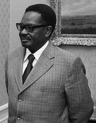 Agostinho Neto, first President of Angola.