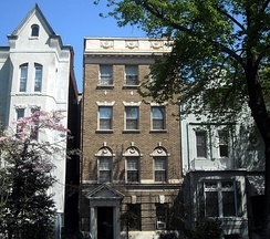Dowdy's former residence in the Dupont Circle neighborhood of Washington, D.C.