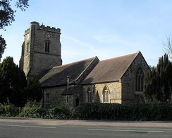 St John the Baptist's Church from the southeast
