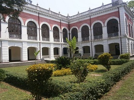 The Tajhat Palace Museum in Rangpur