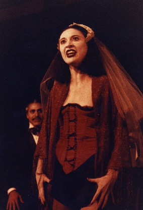 Marcia Edmundson as Low-Dive Jenny in Brad Mays' 1982 Baltimore production