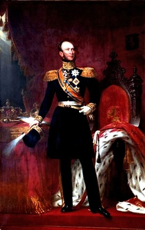 King William II as Sovereign of the Order