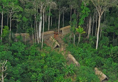 Members of an uncontacted tribe encountered in the Brazilian state of Acre in 2009