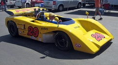The McLaren M8E that was driven by Vic Elford in the 1971 Canadian-American Challenge Cup