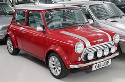 The last Mini produced, a Rover Cooper Mini Sport, rolled off the Longbridge line on 4 October 2000