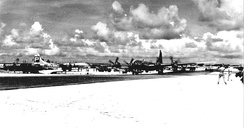39th Bombardment Group B-29s