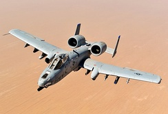 A-10 Thunderbolt II ground-attack aircraft