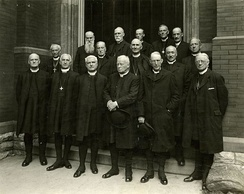 Anglican archbishops and bishops of Canada, c. 1924