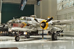 B-25J 44-86725 Super Rabbit at the Evergreen Aviation Museum