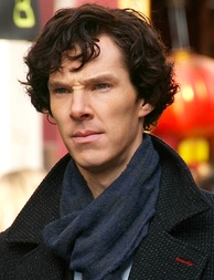 Filming Sherlock in Chinatown, London, March 2010. He portrayed the title character for 13 episodes between 2010 and 2017.