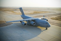 The USAF C-17 Globemaster III was built to perform development testing.
