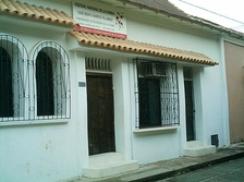 House of the composer José Barros at El Banco, Magdalena.