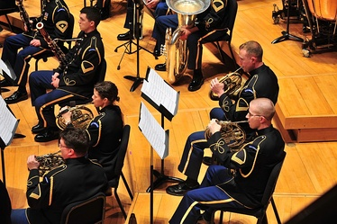 A military band—The United States Army Band, 2012