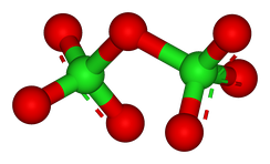 Structure of dichlorine heptoxide, Cl2O7, the most stable of the chlorine oxides