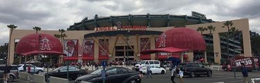 Angel Stadium of Anaheim's exterior