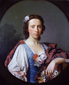 Portrait of Flora MacDonald by Alan Ramsay