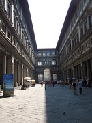 The Uffizi colonnade and loggia
