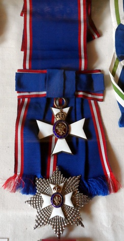 Star and riband of a Knight Grand Cross of the Royal Victorian Order