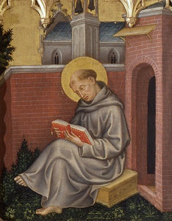 St Thomas Aquinas, Christian philosopher of the Catholic Church
