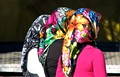 Women with headscarves in Alanya, Turkey