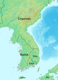 Korea in the late 4th century