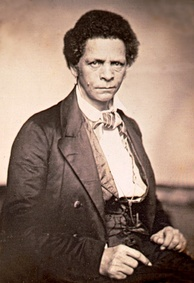 Joseph Jenkins Roberts, born in Virginia, was the first president of Liberia, which was founded in 1822 for freed American slaves.