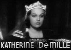 DeMille in the trailer for The Crusades (1935)