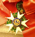 Chiang Kai-shek's Légion d'honneur. This is the reverse of his Grand Cross.