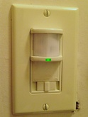 Occupancy sensors can conserve energy by turning off appliances in unoccupied rooms.[8]