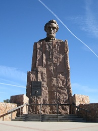 Lincoln Highway Monument in Wyoming