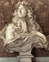 Bust of Louis XIV by Bernini, Versailles (1665)