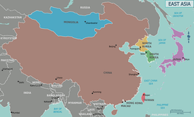The countries of East Asia also form the core of Northeast Asia, which itself is a broader region.