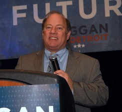 In 2013 Mike Duggan was elected Mayor of Detroit[228]