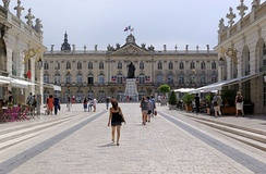 City hall and monument to Stanislaus I of Poland, at Place Stanislas