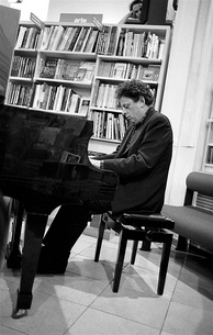 Philip Glass in Florence, 1993