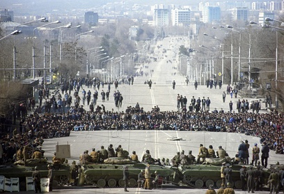February 1990 Riots in Dushanbe