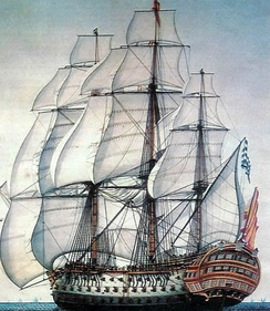 Nuestra Señora de la Santísima Trinidad. Philip V and Charles III made the navy a high priority of their governments