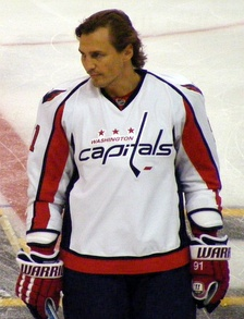Sergei Fedorov, first European trained player to win it, one-time winner