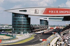 F1 Chinese Grand Prix in Shanghai