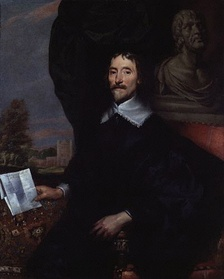 This painting by William Dobson probably represents Sir Thomas Aylesbury, 1st Baronet