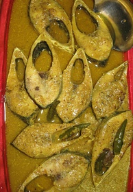 Shorshe Ilish, a dish of smoked ilish with mustard seeds, has been an important part of Bengali cuisine.