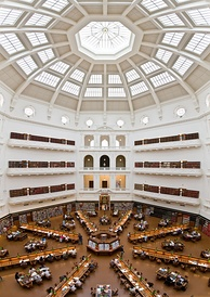The State Library of Victoria's La Trobe Reading Room