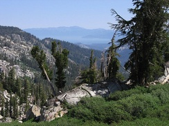 View from the Tahoe Rim Trail
