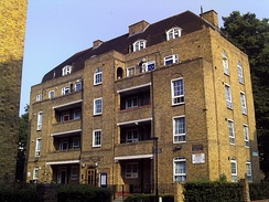 Tornay House, Shore Place, London E9, which includes the childhood home of Don Black