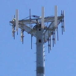 "A multi-directional, cellular network antenna array (""cell tower"")"