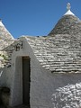 Entrance of a trullo (Alberobello)