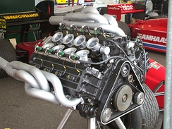 A 1990 W12 3.5 Formula One engine from the Life F1 car