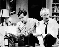 Walter Matthau and Art Carney in the 1965 production.