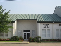 Family Life Center of West Erwin Church of Christ in Tyler