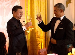 President Barack Obama and Chinese leader Xi Jinping in September 2015
